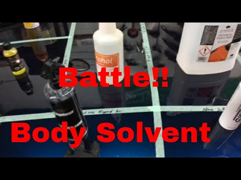 Body Solvent BATTLE ROYALE!!!   (Optimum/Adams/IGL/IPA/Angelwax/Citrol)