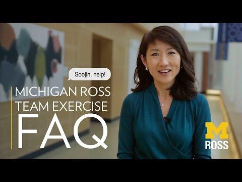Michigan Ross MBA Team Exercise FAQ