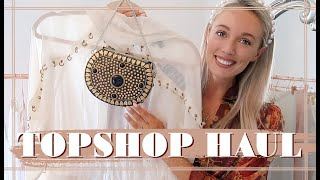 TOPSHOP PRE-AUTUMN HAUL & TRY ON // IDOL Collection Review    Fashion Mumblr