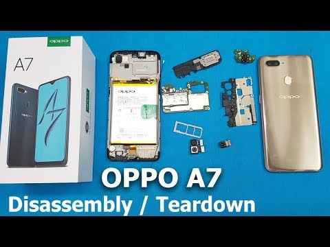 OPPO A7 Disassembly || OPPO A7 Teardown || Video Useful For Replacing All Internal Parts Of A7