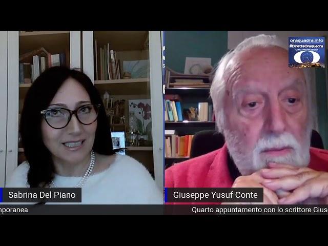 Sabrina Del Piano intervista Giuseppe Yusuf Conte per Oraquadra: il Viaggio nel Mitomodernismo