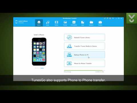 Wondershare TunesGo - Back Up Data From IOS Devices Without ITunes - Download Video Previews