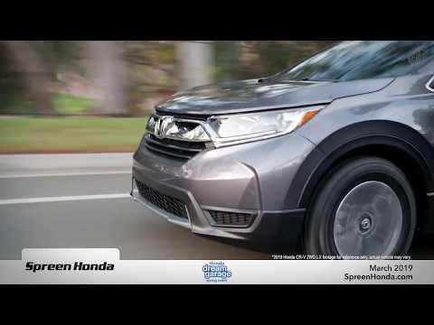 2019 Honda CR-V FWD LX - Spreen Honda (March Offers)