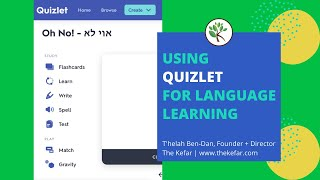 Using Quizlet Activities for Language Learning screenshot 4