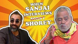 FUNNIEST INTERVIEW EVER   ft. Sanjai Mishra & Ranvir Shorey