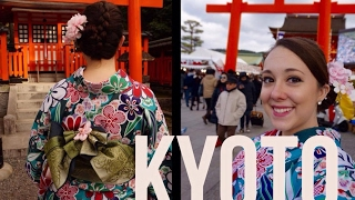 Kyoto, Japan: Kimono Green Tea Adventure!