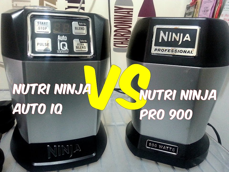 NUTRI NINJA PRO 900 VS NUTRI NINJA AUTO IQ COMPARISON ...