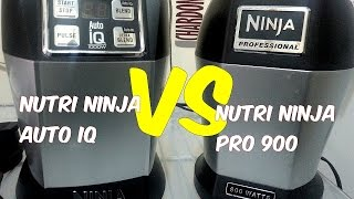 nutri ninja pro 900 vs nutri ninja auto iq comparison review