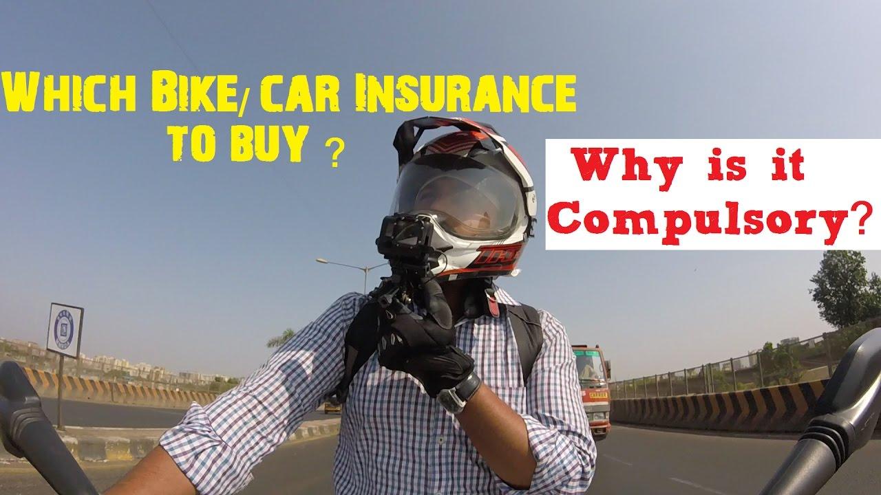 Why is Bike/Car Insurance Compulsory in India ? | Beware ...