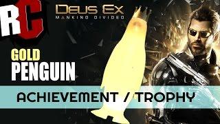 DEUS EX: Mankind Divided - Gold Penguin Location (The Golden Rookery Achievement / Trophy)
