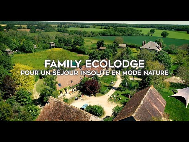 Family Ecolodge, vacances natures entre Loire et Bourgogne