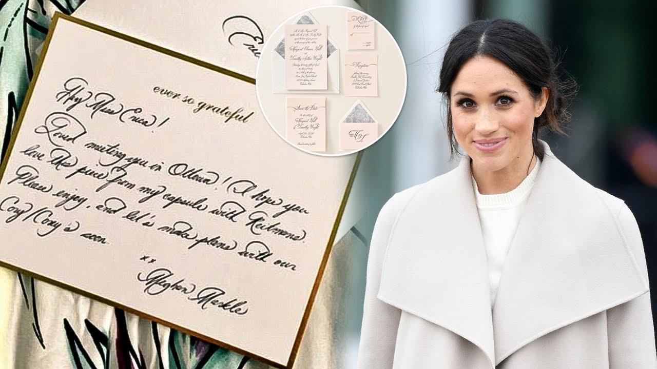 A Handwriting Expert Analyzes How Meghan Markles Signature Has Changed Since Becoming A Duchess A Handwriting Expert Analyzes How Meghan Markles Signature Has Changed Since Becoming A Duchess new foto