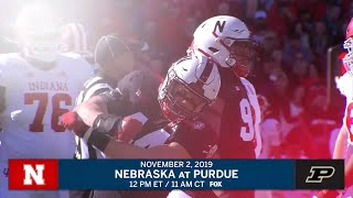 Week 10 Preview: Nebraska at Purdue B1G Football