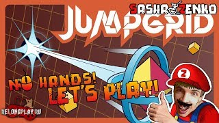 JUMPGRID Gameplay (Chin & Mouse Only)