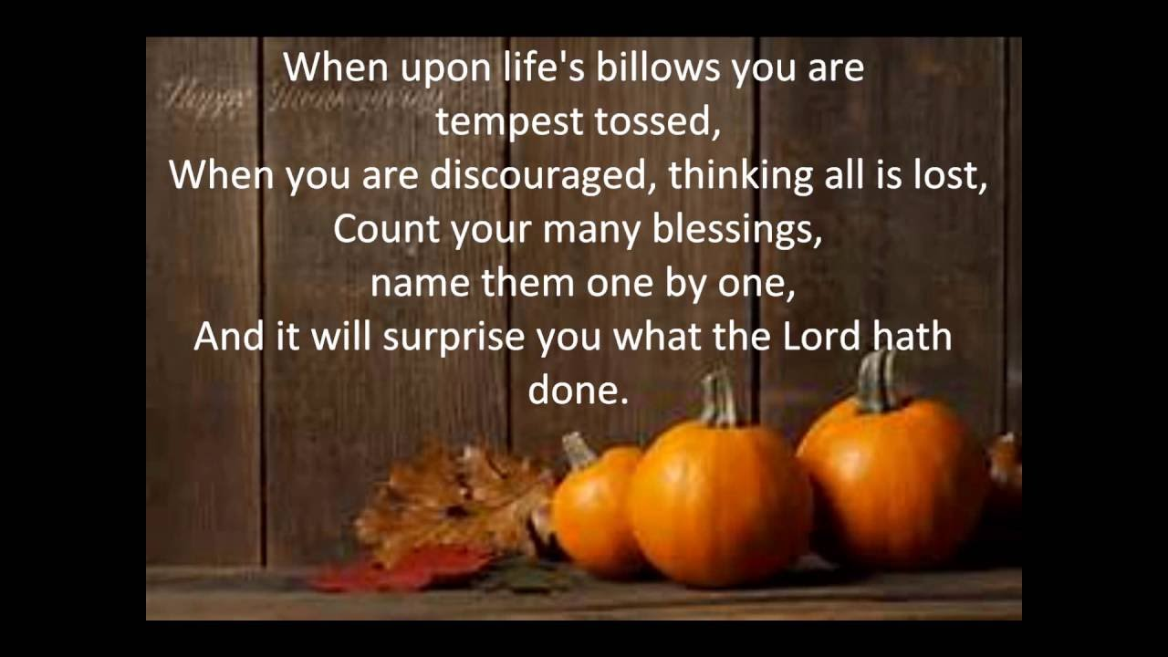 GUY PENROD - COUNT YOUR BLESSINGS LYRICS