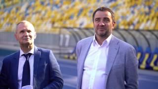 Інспекція стадіону НСК Олімпійського