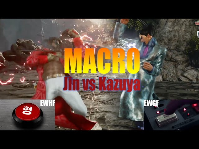 Macro Tekken Jin Vs Kazuya Who S More Macro The Mincomics Jin Ranking Misadventures Season 3 Youtube