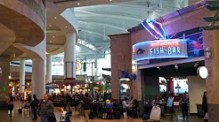 Seattle-Tacoma International Airport (KSEA/SEA) Terminal D.