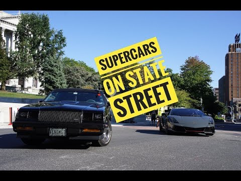 Supercars on State Street 2017 in the Buick Grand National!