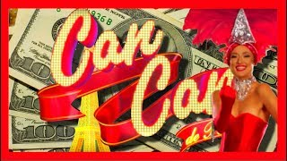 LIVE PLAY on Can Can De Paris Slot Machine with Bonus and Big Win!!! Part 1