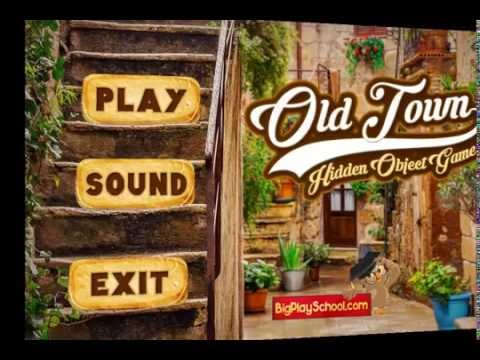 Old Town - Free Find Hidden Objects Games