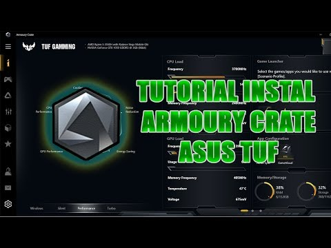 Tutorial Instal Armoury Crate di Laptop ASUS TUF FX505D / FX705D INDONESIA