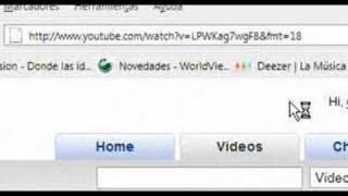 YOUTUBE en alta definicion! ( &fmt=18) youtube in HD