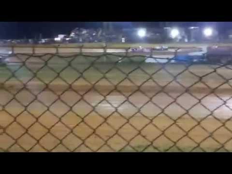 Modoc Speedway SS4 Main Event 3-28-15
