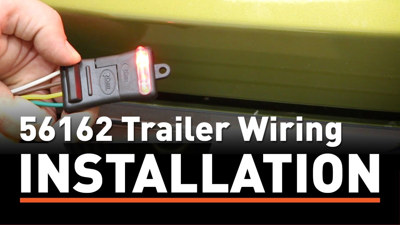 trailer wiring install: curt 56162 custom wiring harness on a jeep patriot