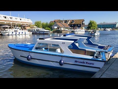 A Norfolk Broads 1 Day Boat Trip -  Mini-documentary