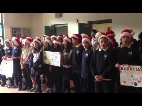 Let it Snow at SFPD Mission Station - Adda Clevenger School 2013