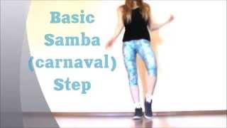 Basic Samba Step. Easy Dance Lesson by EHABY.