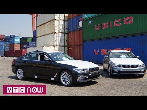BMW series 5 thế hệ mới cập cảng TPHCM | VTC1