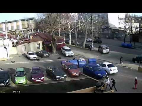 Как «чистят» авто в Одессе?