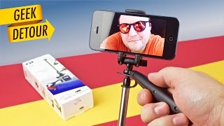Smoovie Plus: cheapest iPhone Gimbal Stabilizer/SteadyCam. Unboxing, Review & Tutorial