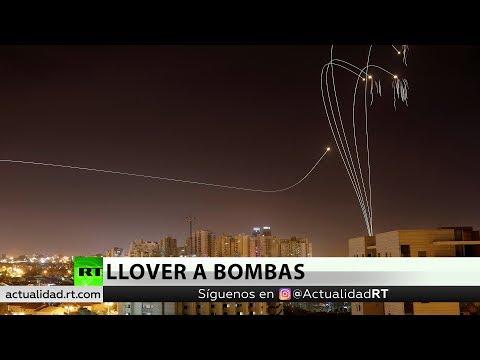 120 blancos destruidos en Gaza en respuesta a más de 400 misiles:lanzado desde gaza
