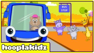 Wheels On The Bus | HD Version 3 | Nursery Rhymes For Toddlers And Babies From HooplaKidz