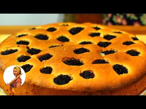 Пирог с ежевикой в мультиварке рецепты