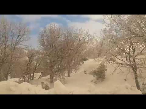 תיעוד: כמויות השלגים שנערמו בחרמון
