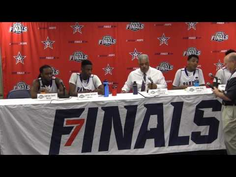 2017 AHSAA 6A BOYS SEMIFINAL PRESS CONFERENCE -  Parker vs  Spanish Fort