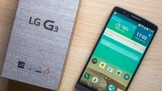 lG G3 D855 UNBOXING and REVIEW