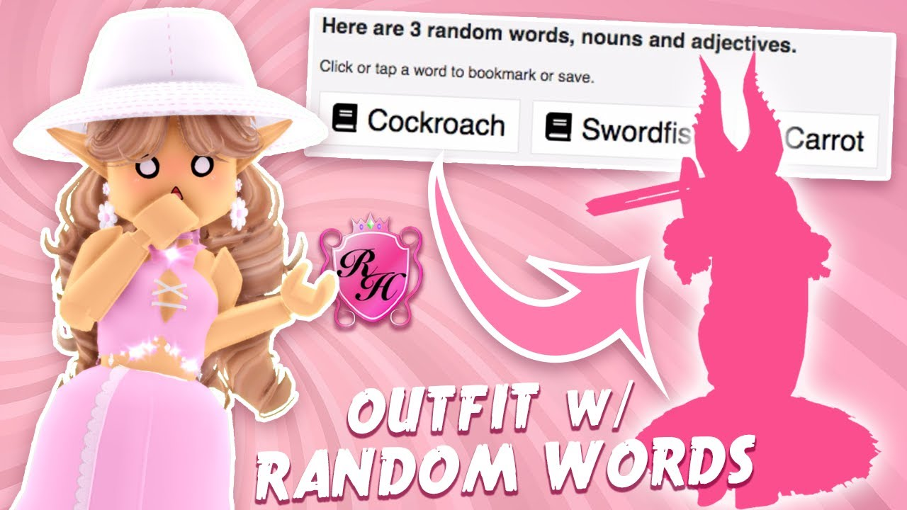 I Made a Royale High Outfit Using Random Words from a Generator... And Then It Won a Pageant!