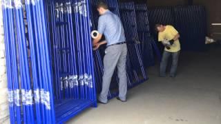 Леса строительные(Леса строительные рамного типа от изготовителя ООО Техпромпроект., 2015-07-14T08:50:11.000Z)