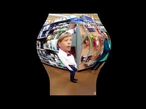 Walmart yodeling kid EARRAPE!!
