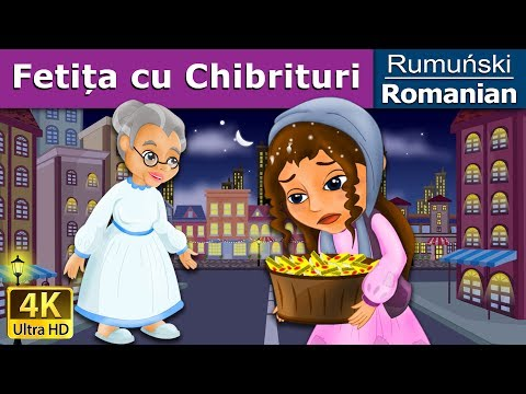 Fetița cu Chibrituri - The Little Match Girl in Romanian - 4K UHD - Romanian Fairy Tales
