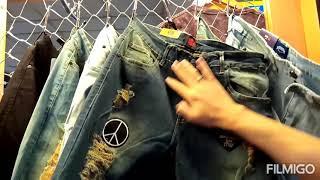 Celana Jeans Pria Sobek Soft Blue Original TONY JACK Model Slim Fit