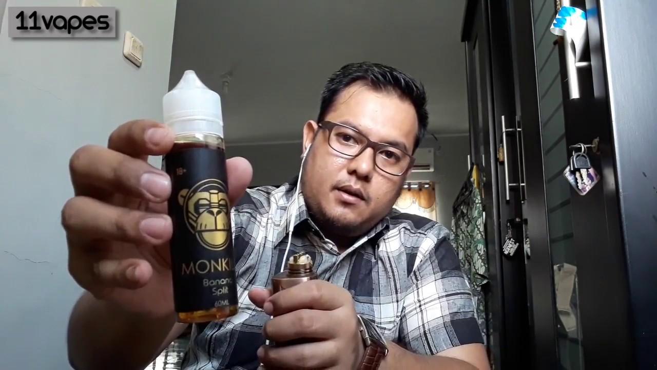 Download Monkilo Banana Split Liquid Review! [VapeVid]