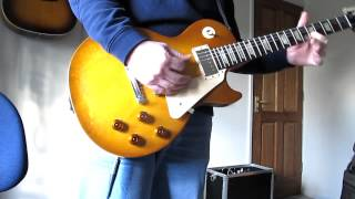 DiMarzio Super distortion Humbucker DP100 bridge Gibson Les Paul Studio 50's Tribute Demo