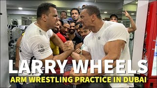 LARRYWHEELS VS INDIA'S BEST ARM WRESTLER!