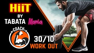 TABATA 30/10 - Workout music w/ TIMER - BlowUp Rumors - NEFFEX Ft TABATAMANIA